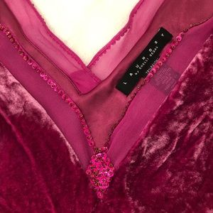 Gorgeous Laundry velvet top